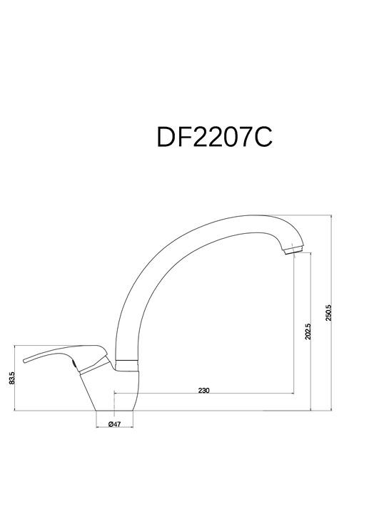 Köögisegisti Thema Lux, ECO DF2207C