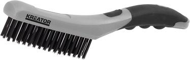 Kreator KRT561007 PP Wire Brush 4R Stainless Steel