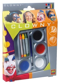 SES Creative Clowny Face Crayons & Aqua Paint 09641