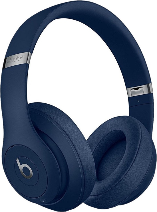 Kõrvaklapid Beats Studio3 Wireless Blue, juhtmevabad