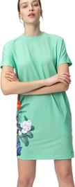 Audimas Short Stretch Printed Dress Mint Garden S