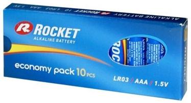 Rocket LR03-10BB AAA Eco Pack Batteries 10x