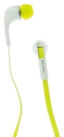 Kõrvaklapid BlueStar IN60 Sport White/Yellow