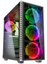 Kolink Case Observatory RGB Tempered Glass White