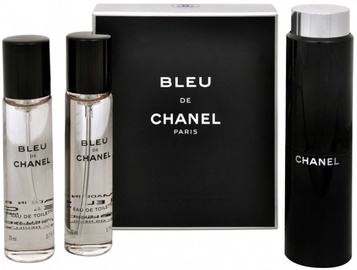 Chanel Bleu de Chanel 3x20ml EDT Travel Spray