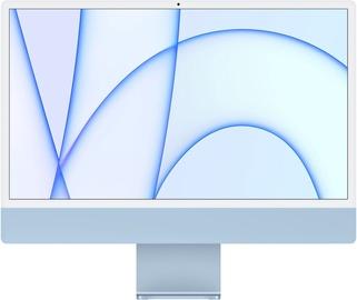 "Lauaarvuti Apple iMac / MGPK3ZE/A / 24"" Retina 4.5K / M1 8-Core GPU / 8GB RAM / 256GB Blue LT"
