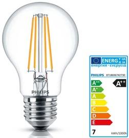Philips Classic LEDbulb Fila 7W A60 E27