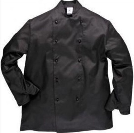 Viesnīcu Tekstils Chef Jacket Somerset M Black