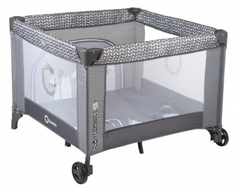 Lionelo Sofie Baby Bed And Playpen Grey