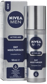 Nivea Men Active Age Day Moisturiser 50ml Cosmetics