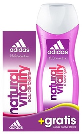 Adidas Natural Vitality 50ml EDT + 250ml Shower Gel