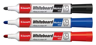 Luxor White Board Marker 450 Red