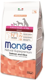 Monge Speciality Line Adult Extra Small Salmon & Rice 2.5kg