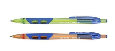 ErichKrause XR-30 Retractable Ballpoint Pen Blue 12pcs