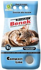 Наполнители для котов Super Benek Compact, 5 л