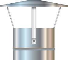 Cordivari Chimney Rain Cap Cover D150