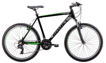 """Jalgratas Romet Rambler R6.1 14"""" 26"""" Black Green 19"""