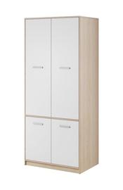 Гардероб WIPMEB Tulia Sonoma Oak/White, 83.4x55.3x195 см