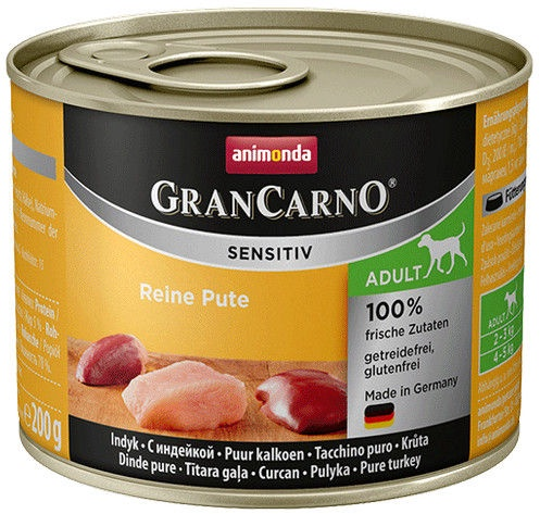 Animonda GranCarno Sensitiv Turkey 200g