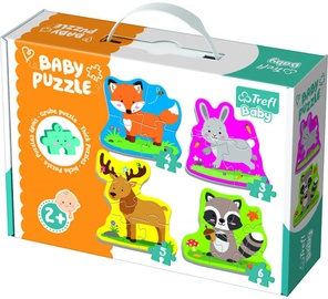 Pusle Trefl Baby Classic Forest Animals 36077T, 18 tk