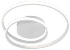 Светодиодный потолочный светильник Trio Zibal матовый белый, 22 Вт, 2200 лм, 3000 К, функция трехступенчатого переключения, затемнение