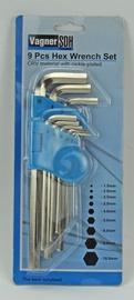 Vagner SDH Hex Wrench Set 9pcs