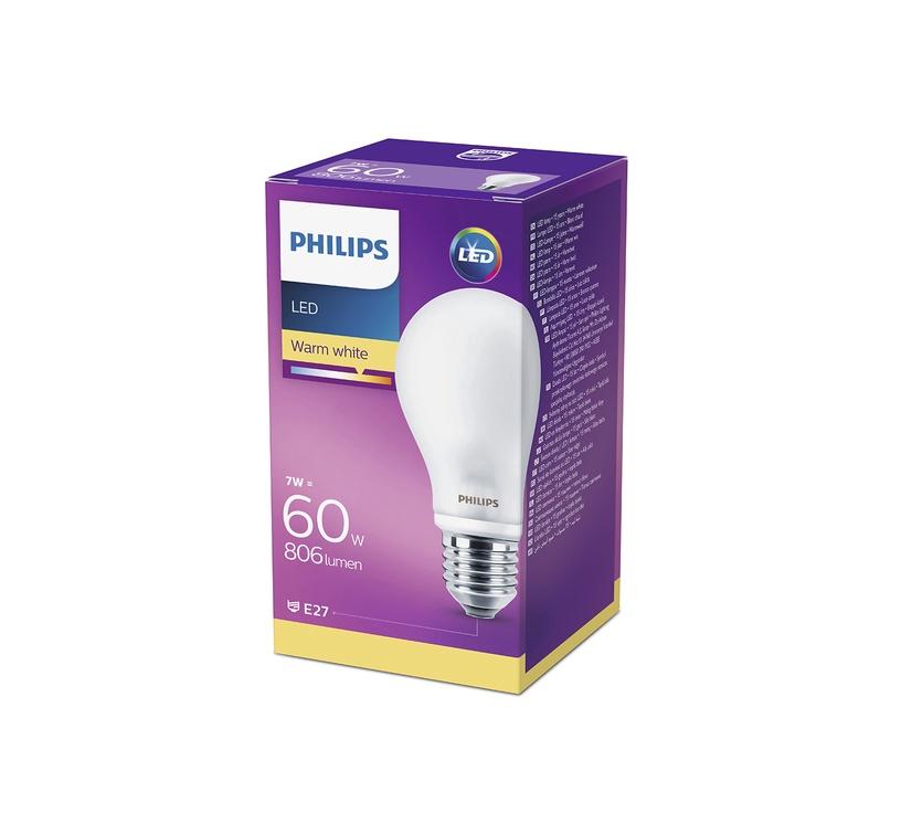 Philips LED Lamp 60W A60 E27
