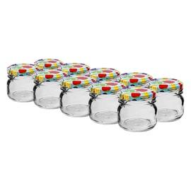 Klaaspurkide komplekt, su dangteliais 0,03 l, 10 tk