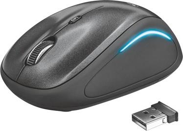 Компьютерная мышь Trust YVI FX, черный, беспроводная, оптическая