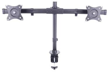 "Multibrackets Dual Desk Mount 15-27"" Black"