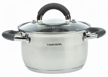 Topfann Casserole With Glass Lid D16cm 1.5l