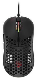 Mänguhiir Spc Gear LIX Black, juhtmega, optiline
