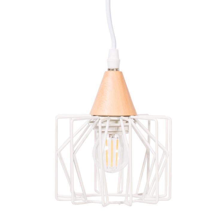 Domoletti Vanila MD51164A-1 Ceiling Lamp 40W E27 White