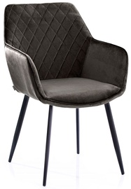 Homede Vialli Chairs 2pcs Brown