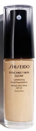 Shiseido Synchro Skin Glow Luminizing Fluid Foundation SPF20 30ml G3