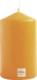 Eika Pillar Candle 14x8cm Orange
