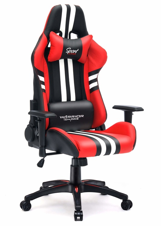 Mänguri tool Warrior Chairs Sport Extreme Black/Red