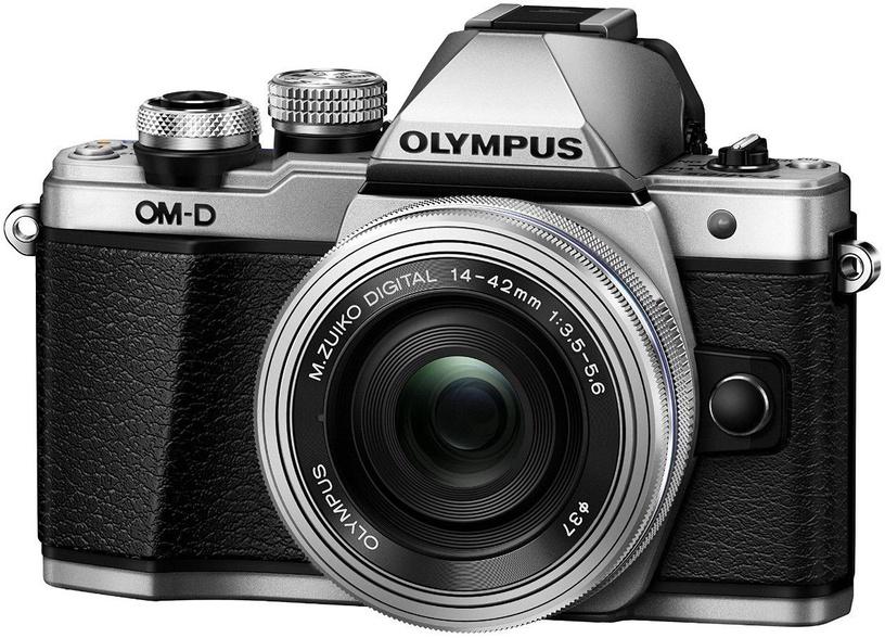 Olympus OM-D E-M10 Mark II Silver + 14-42mm II R Silver Kit