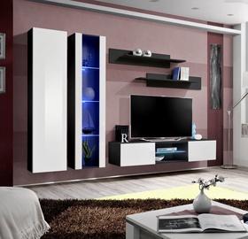 ASM Fly O4 Living Room Wall Unit Set White/Black