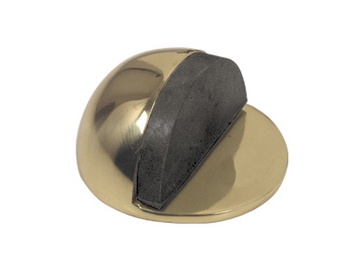 Metal-Bud Door Stopper Brass