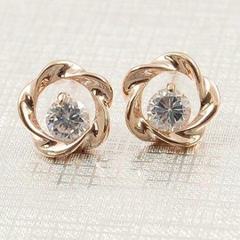 Vincento Earrings With Swarovski Elements CE-1083