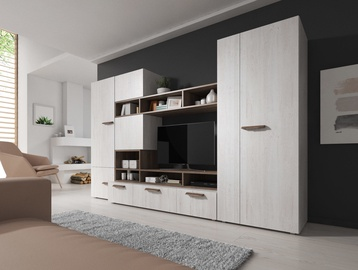 Idzczak Meble Nova Wall Unit Northland/Trufla
