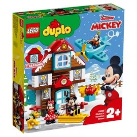 Konstruktor Lego Duplo Mickeys Vacation House 10889
