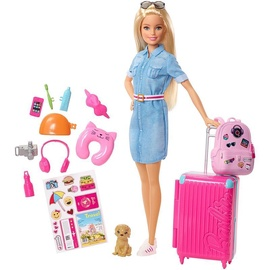 Nukk Mattel Barbie Travel And Accessories FWV25