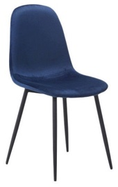 Стул для столовой Signal Meble Fox Navy Blue