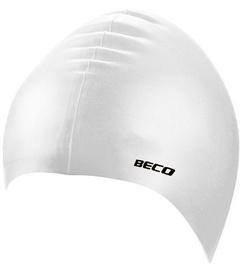 Beco Silicone Swimming Cap White