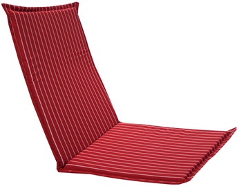 Home4you Chair Cover Summer 42x90x3cm Striped Red