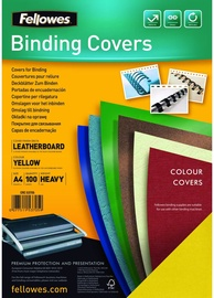 Fellowes Delta A4 FSC Binding Cover Leather Yellow