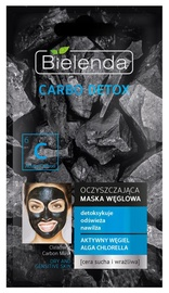 Näomask Bielenda Carbo Detox Purifying Mask Dry & Sensitive Skin, 8 g