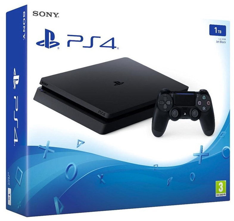 Sony Playstation 4 (PS4) Slim 1TB Black